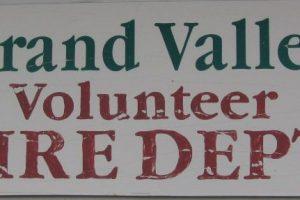 Grand Valley Area Volunteer Fire Department Notice